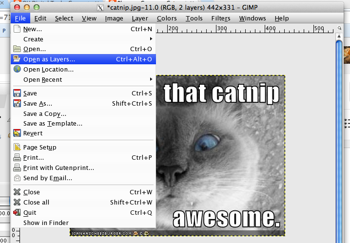 Ou digital teaching making a simple animated gif with gimp then i just do file saveas and choose gif as the option in the dialogue box that pops up about what to do with the layers i choose animation and i negle Images