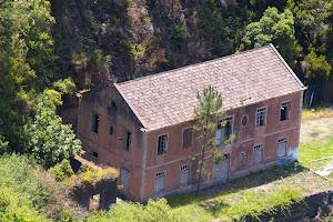 de oude boterfabriek van Fajã da Ovelha