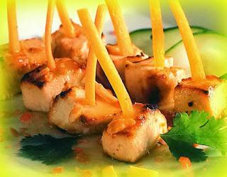 Pollo estilo tailandés