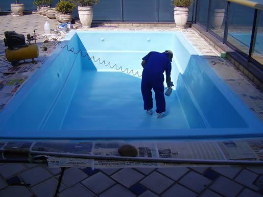 Jamar s muniz pintura de piscinas for Piscinas de fibra usadas
