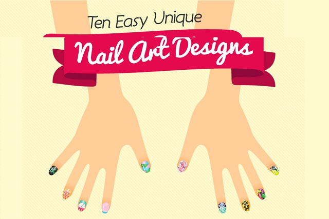 Image: Ten Easy Unique Nail Art Designs [Infographic}