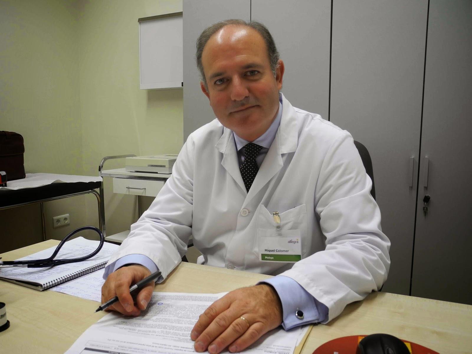 Doctor Colormer metge geriatra Sabadell. Residencia Allegra