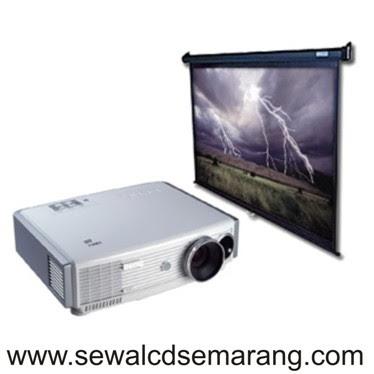 Sewa Infocus Projector + Layar / Screen di Semarang