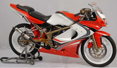 Gambar Modifikasi Motor Ninja 150 RR