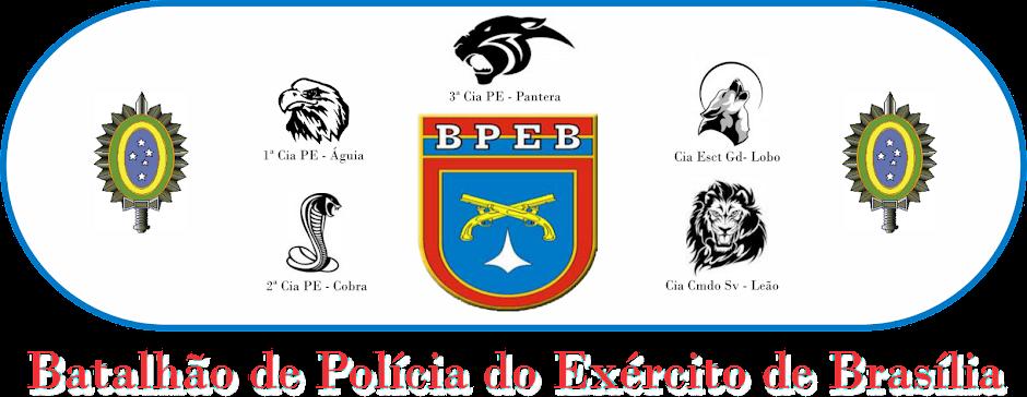 BPEB - Batalhão de Polícia do Exército de Brasília