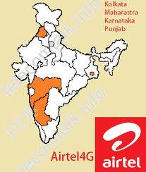 Airtel 4G cities, Next cities for airtel 4G, airtel 4G in India