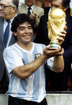 Diego Armando Maradona (Argentina)