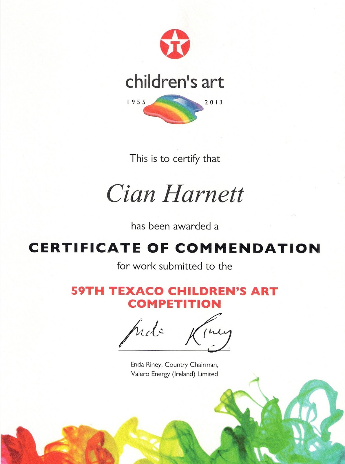 Art certificate template gallery templates example free download art competition certificate template images certificate design pca art blog texaco art competition 2013 texaco art yelopaper Images