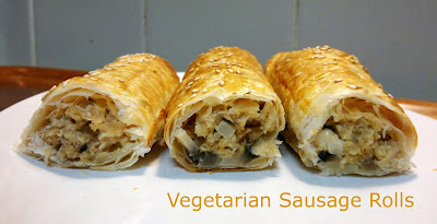 Vegetarian Sausage Rolls © food-baby.blogspot.com All rights reserved