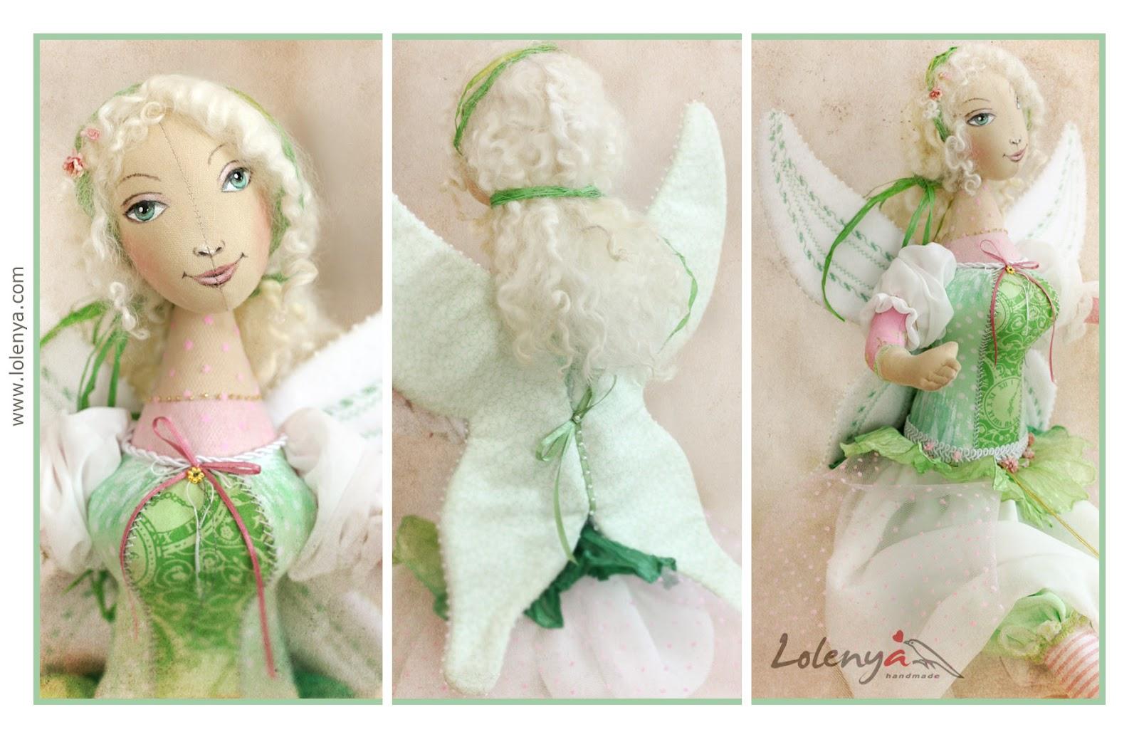 Весенняя кукла своими руками 53