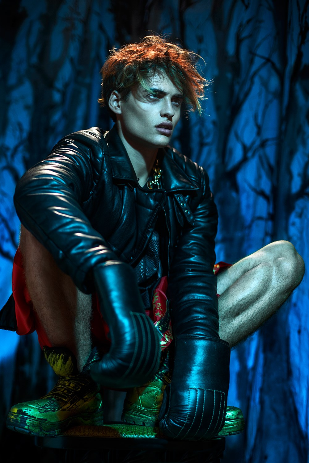 Charlye Madison Wproject: Ben Hill by Alexi Lubomirski