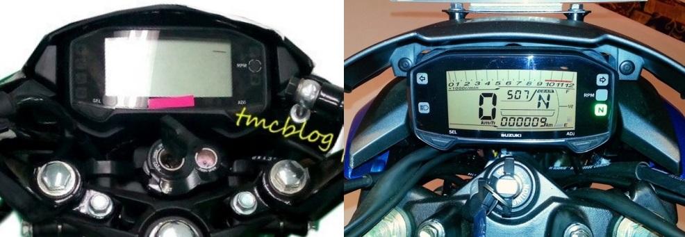Bentuk speedometer Suzuki Satria F150 Injeksi sama dengan Suzuki Gixxer . . adakah kemungkinan Gixxer masuk Indonesia ?