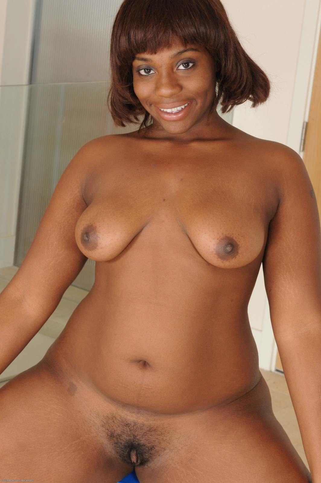 Ebony Big Juicy Jugs