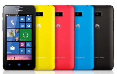 Lo smartphone windows phone 8 economico di Huawei arriverà in Europa da novembre 2013