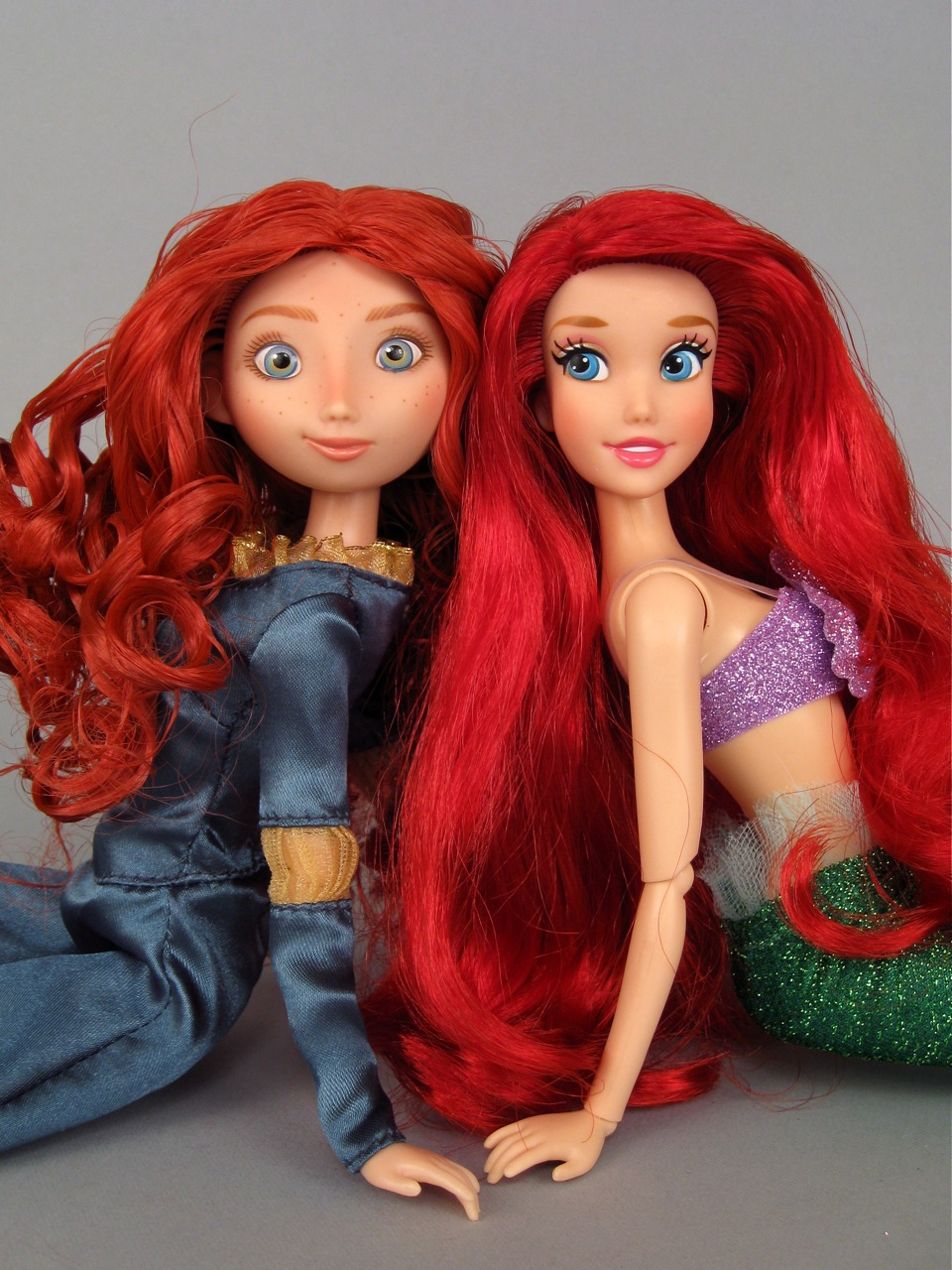 2014 Ariel and Merida Disney Store