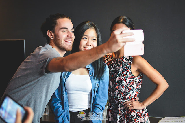 Selfie time with UsTheDuo =D