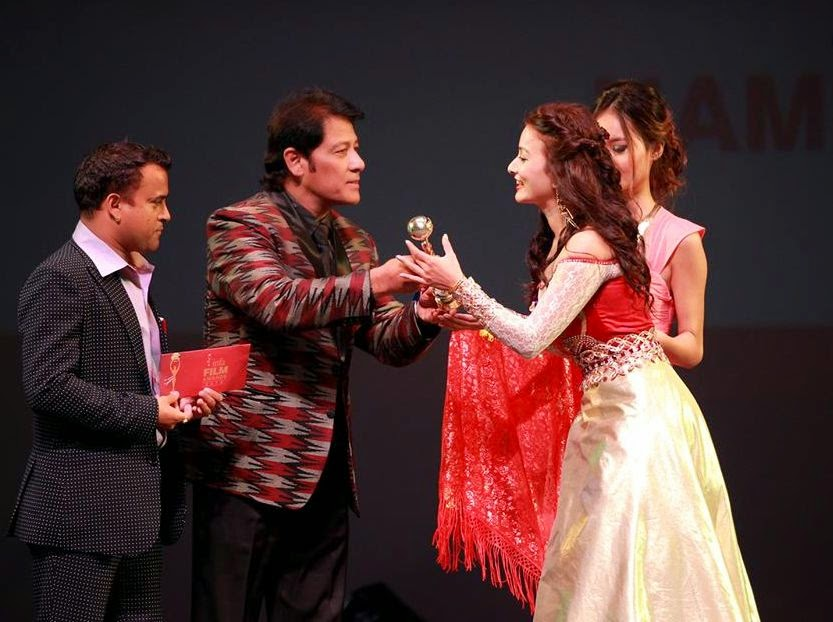 infa nepali film award 2070 hong kong winners