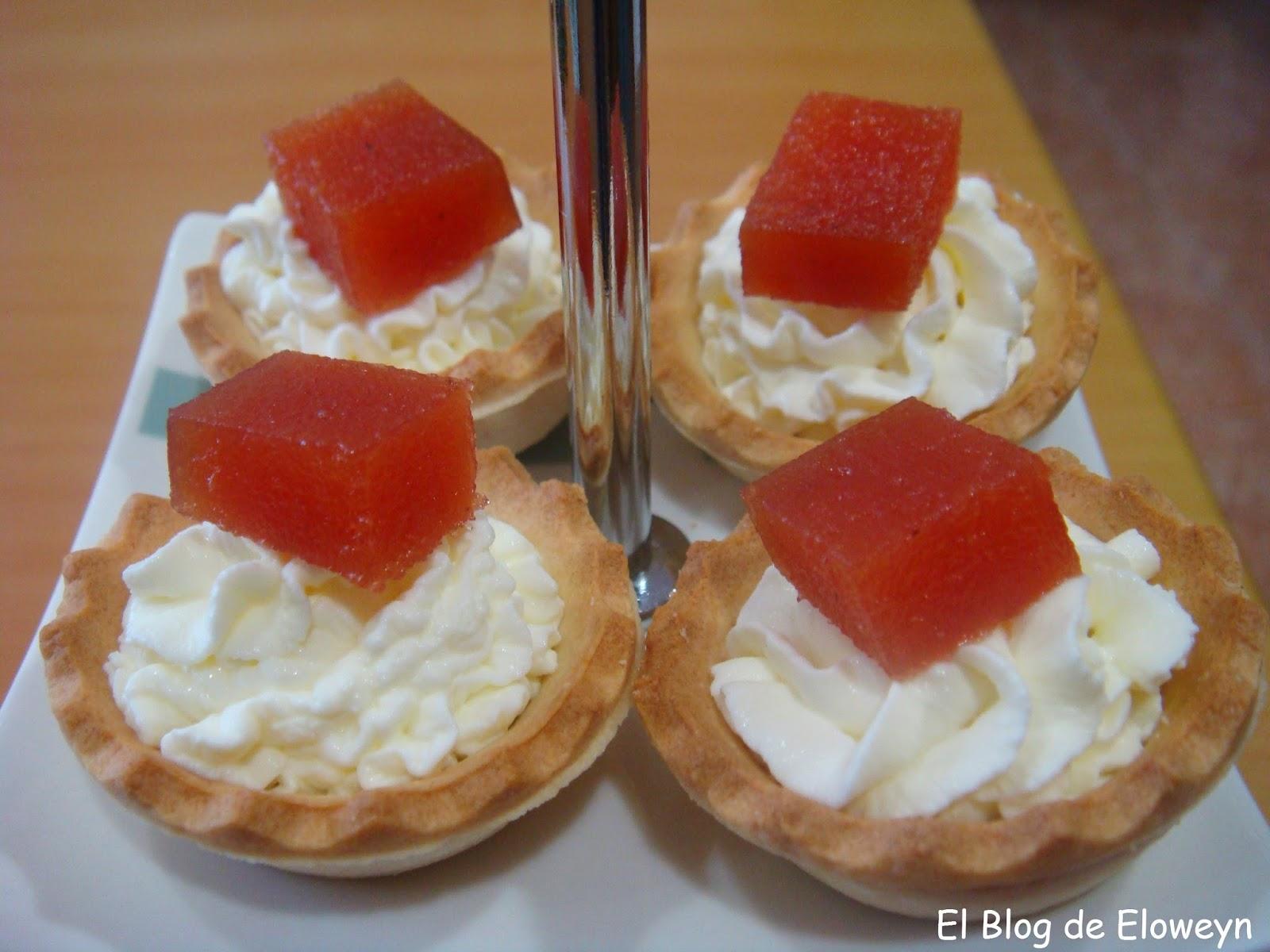 Canap s de membrillo y queso el blog de eloweyn for Canape para navidad