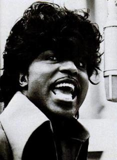 Fotografía en blanco y negro de Little Richard tomada en 1967