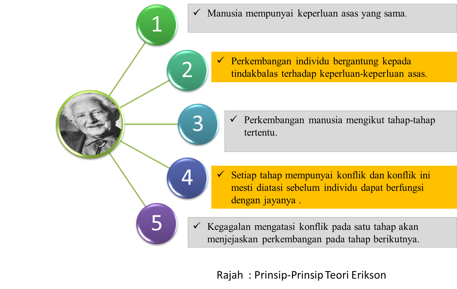 how did erik erikson s theory of development differ from freud s theory Different from freud, who focused on the unconscious, erikson addressed the   erikson proposed a lifespan model of development, taking in five stages up to   erikson's (1959) theory of psycho-social development has eight distinct stages.