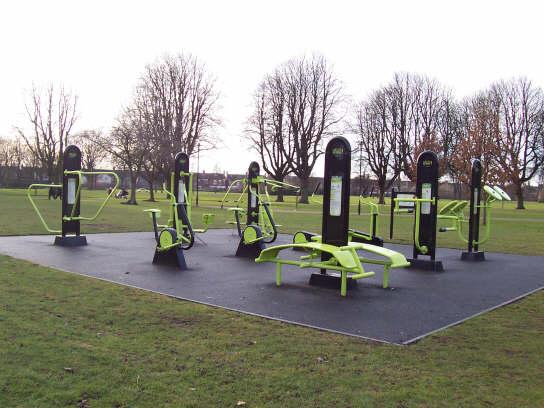 BehindTheStories.co.uk: Outdoor Gym