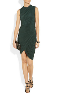 Alexander Wang, Ashley Roberts, Dark Green, Dress, Ant + Dec Saturday Night Takeaway