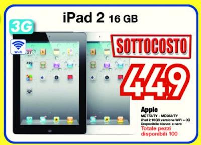 449 euro per un tablet Apple