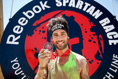 spartan race sprint finisher sergio pitufollow reebok embajador