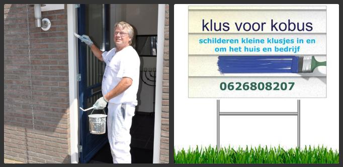 Klus voor Kobus