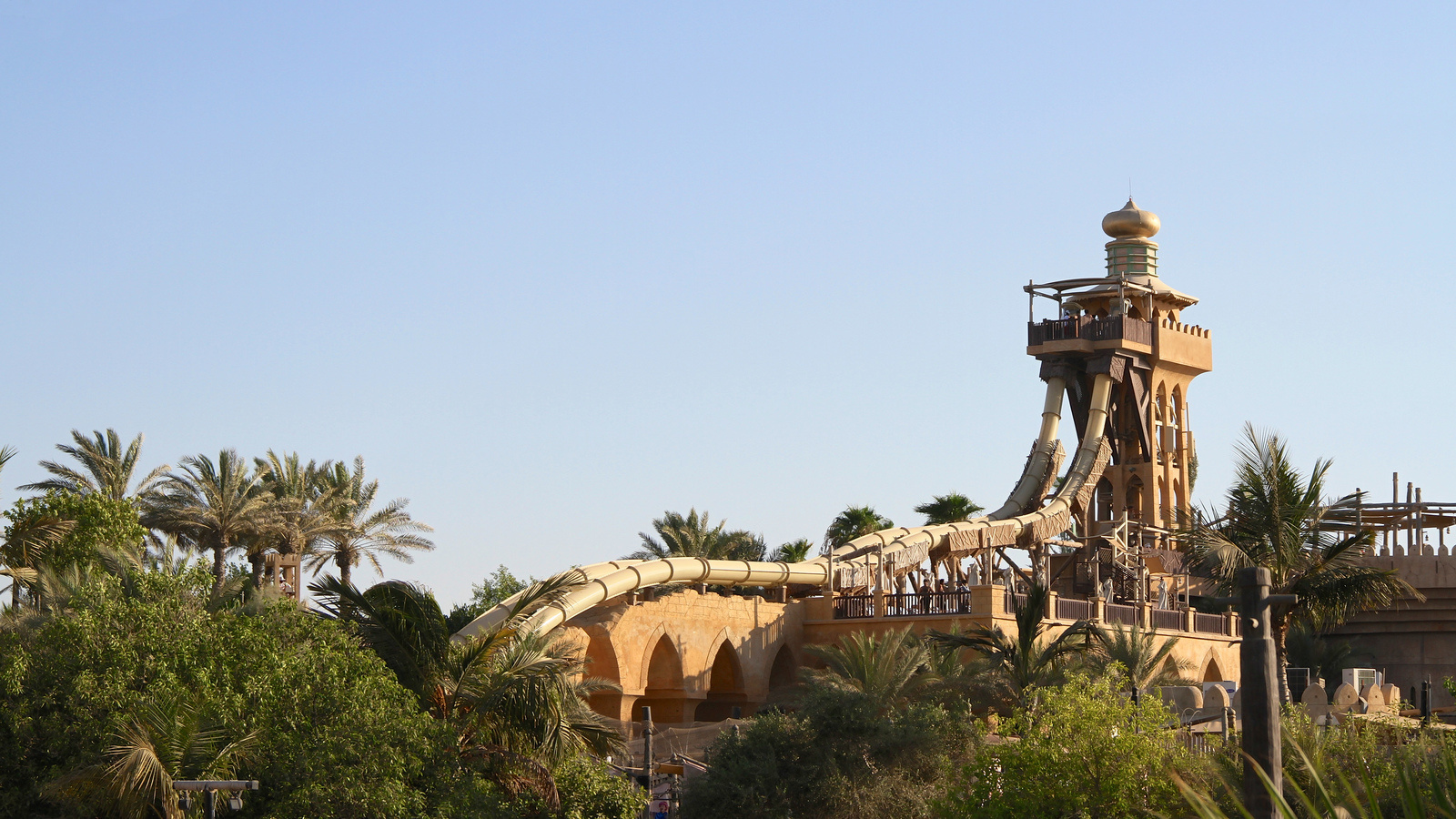 #15. Jumeirah Sceirah, Dubai - The World's 25 Scariest Waterslides… I'm Surprised #6 Is Even Legal.