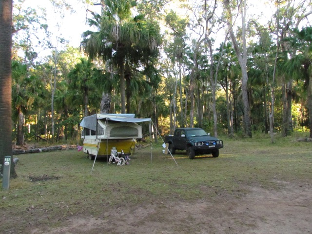 Carnarvon Gorge National Park camping ground