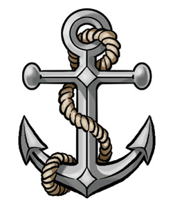 Navy Anchor Logo2