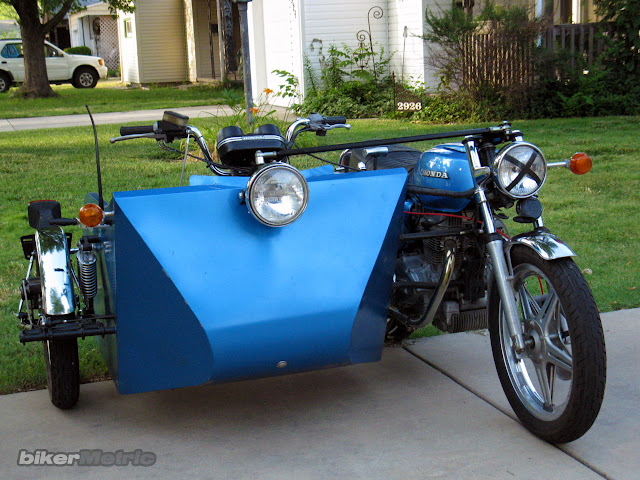 honda cb400 wheelchair motorcycle | handy hack