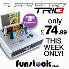 Retro Trio – Plays your NES / SNES / Mega Drive games on one console!