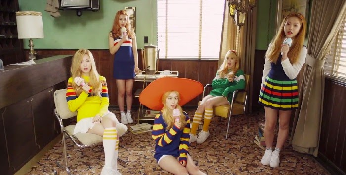 Red Velvet unveil  Ice Cream Cake  MV - Daily K Pop News