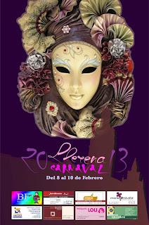 Cartel Carnaval de Llerena 2013