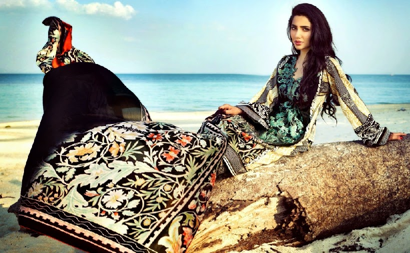 ELANLawnSpring SummerCollection2014 wwwfashionhuntworldblogspotcom 07 - Elan Lawn Spring Collection 2014 By Khadijah Shah