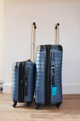 Linea Denim Suitcases from House of Fraser