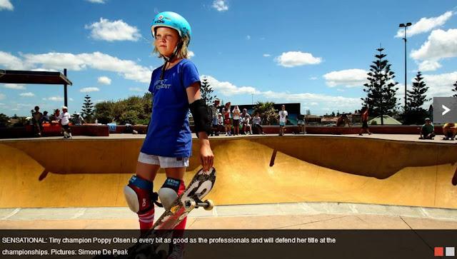 Poppy Starr Olsen, ABC Hurley Australian Bowl Championships, Bar Beach Bowl