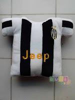 Bantal Baju Juventus