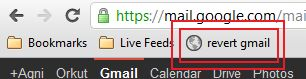 Revert back to Gmail's old look