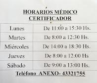 Médico certificador