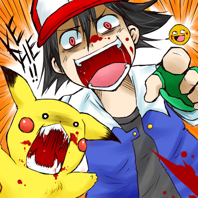  pokemon blood Ash 