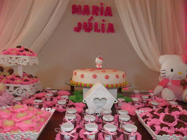 Festa da Maria Julia - Hello Kitty