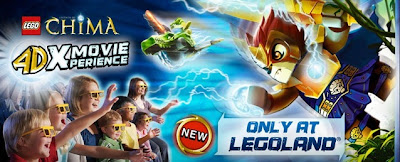 LEGO Chima 4D Movie, Legoland 4D movie, LEGO Chima