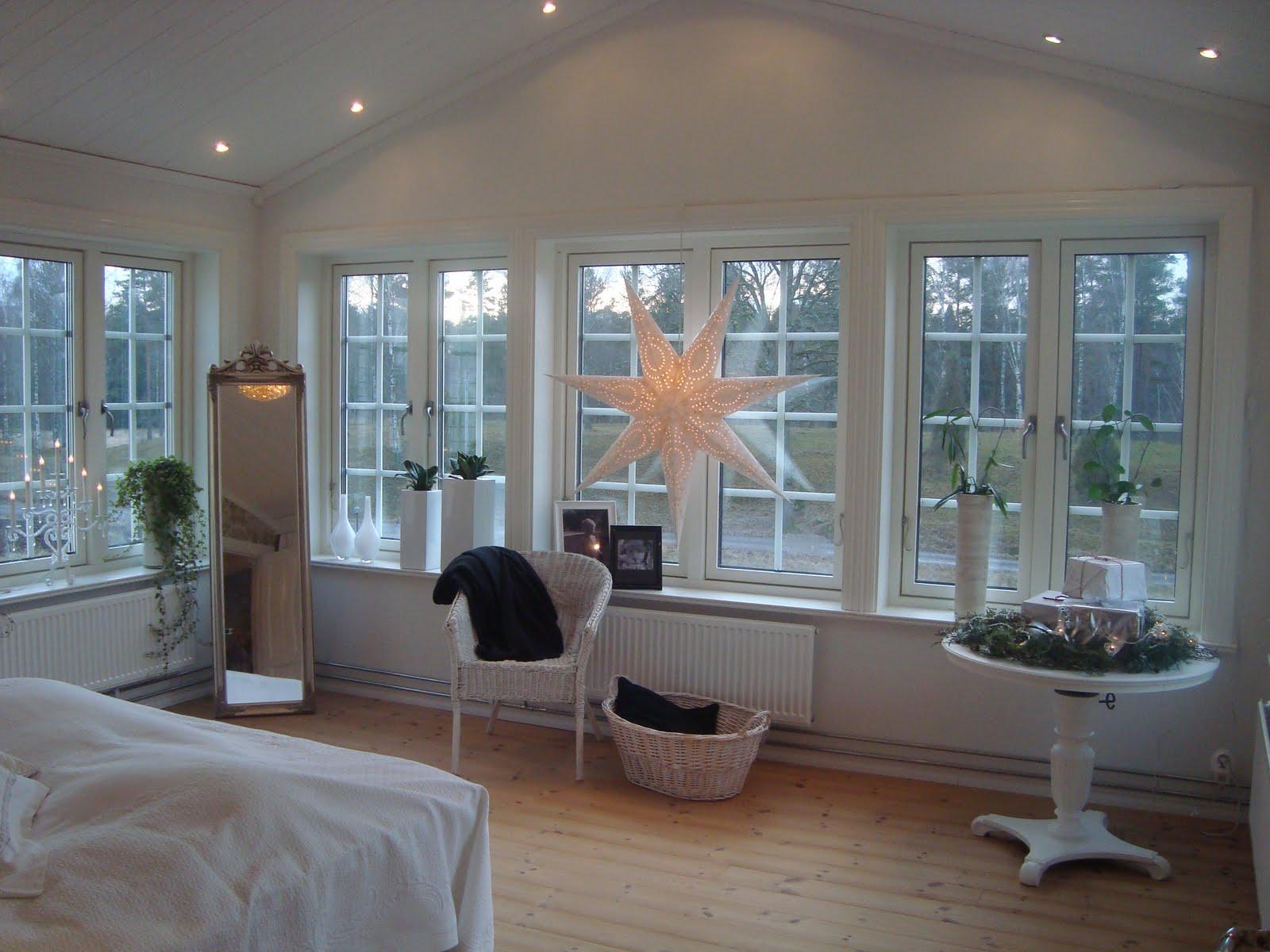 Claras hem pÅ byvÄgen : jul i vårt sovrum...