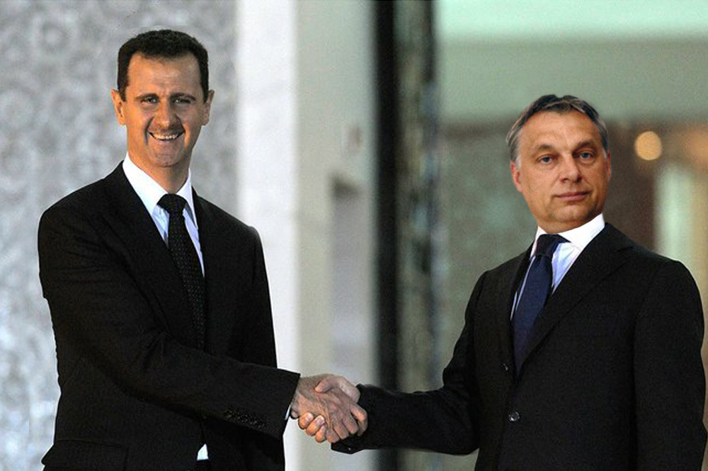 Hungary's Prime Minister Orban gets tips from Assad, how best sells Syrians