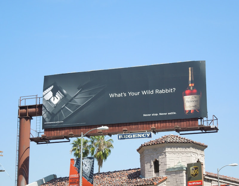 What's your wild rabbit billboard