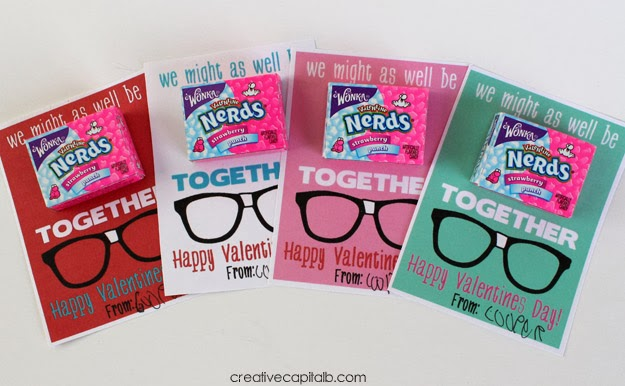 Nerds Valentine printable HERE