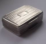 antique solid silver vinaigrette birm 1831 by john bettridge